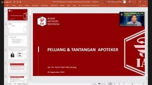Workshop Penyusunan Visi, Misi, Tujuan, Dan Strategi Pencapaian Jurusan Farmasi 1